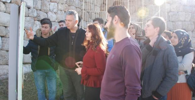 Amasya Üniversitesi'nden Alacahöyük gezisi