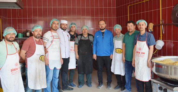 Alaca'da 4000 kişiye pide ve sıcak yemek
