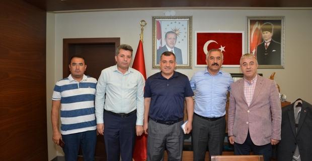Ankara'da oturan Çorumlulardan ziyaret