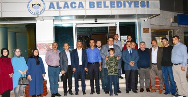 Milletvekili Kaya'dan Alaca'ya ziyaret