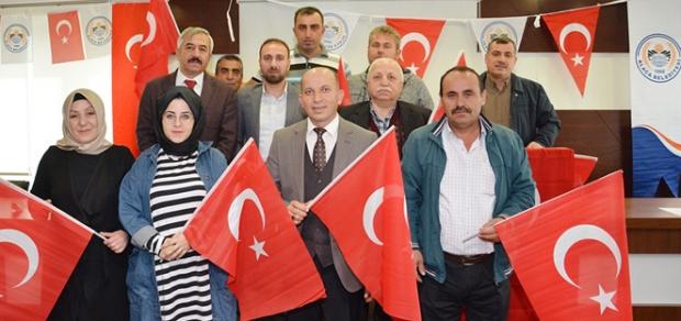 Belediye Meclisi'nden Barış Pınarı'na tam destek