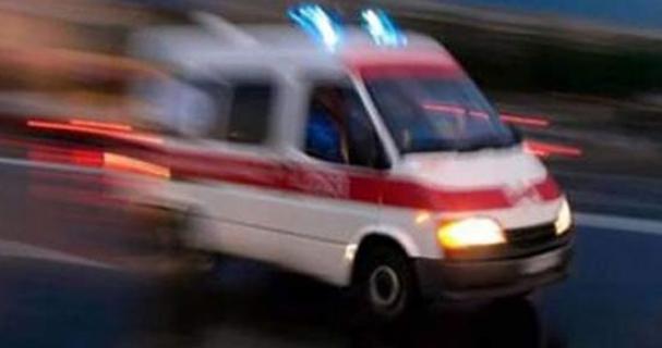 Alaca'da kaza: 1 ağır yaralı