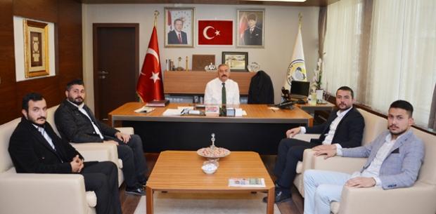 TÜGVA'dan Başkan Şaltu'ya ziyaret