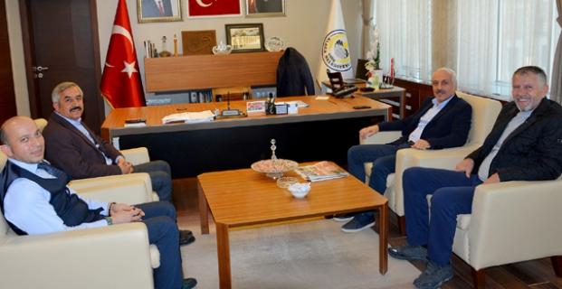 Zeki Gül'den Başkan Şaltu'ya ziyaret