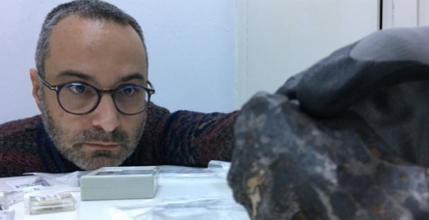En büyük meteor Çorum'a düştü!