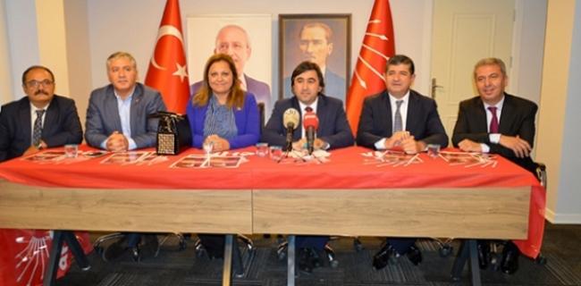 Raporu beğenilmeyen CHP heyeti yeniden Çorum'da