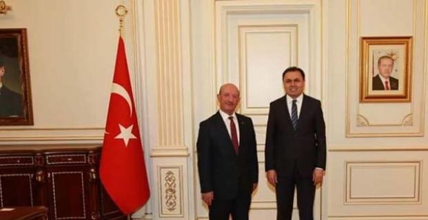 Yozgat Valisi'ni ziyaret etti