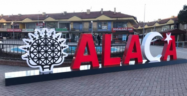 Alaca'ya yeni sembol