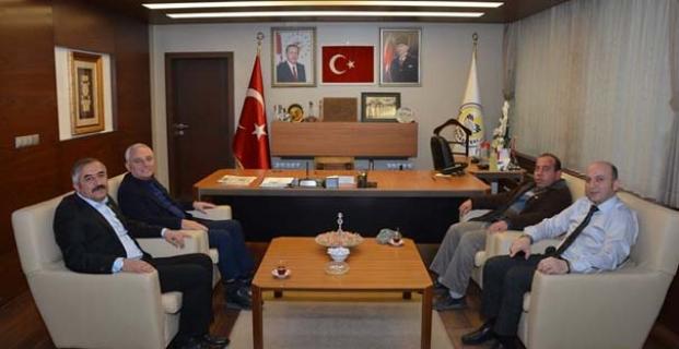 Boyraz'dan Belediyeye ziyaret