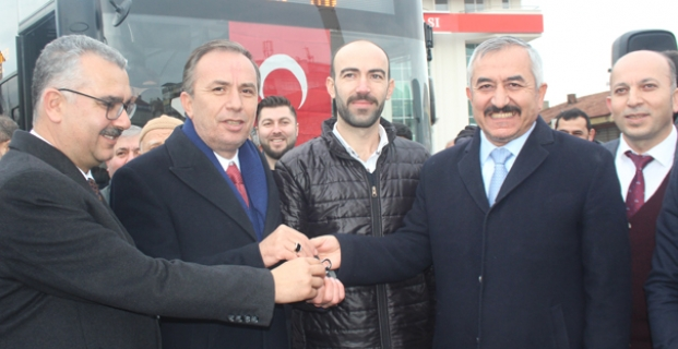 Alaca'ya 1 Milyon TL'lik otobüs