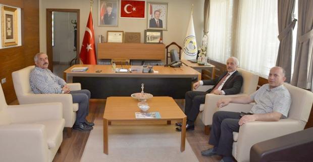 Zeki Gül'den Şaltu ve Arslan'a ziyaret