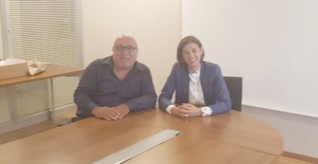 DEVA Partisi Genel Başkan Yardımcısı ile görüştü