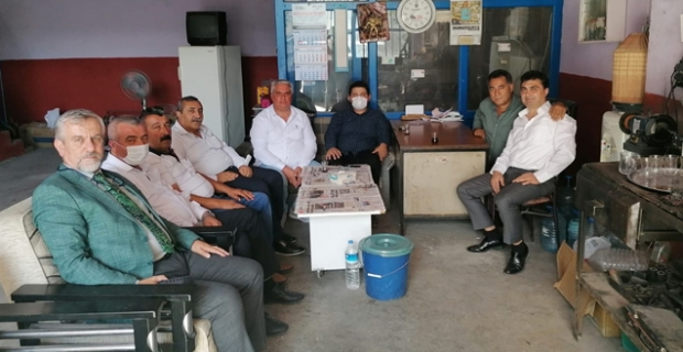 Deva Partisi'nden Alaca'ya ziyaret