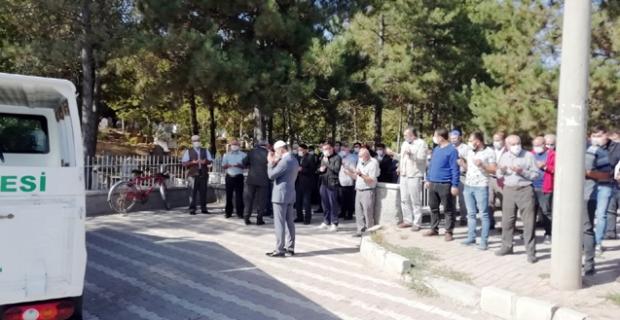 AK Parti Alaca İlçe Başkanının acı günü