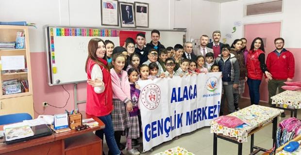 Alaca Gençlik Merkezi, gençlerin hizmetinde!