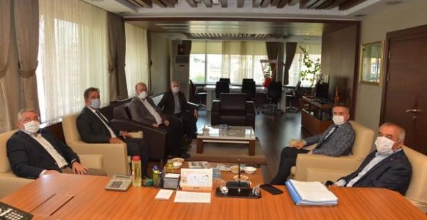 Başkan Aşgın'dan Alaca Belediyesi'ne ziyaret
