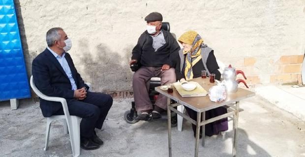 Başkan Şaltu, ziyaretlerini sürdürüyor