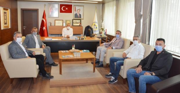 CHP heyetinden Başkan Şaltu'ya ziyaret