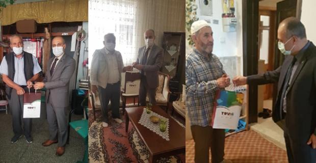Emekli hocalara ziyaret