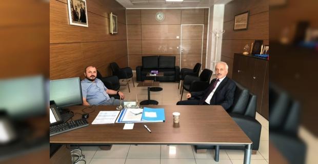 Eyüp Arslan'dan Zeki Gül'e ziyaret