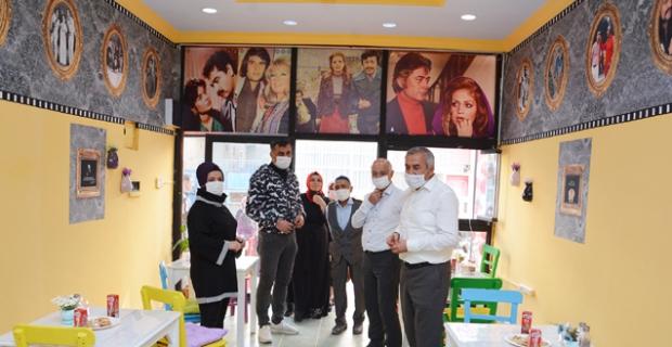 Nostalji Cafe hizmete açıldı