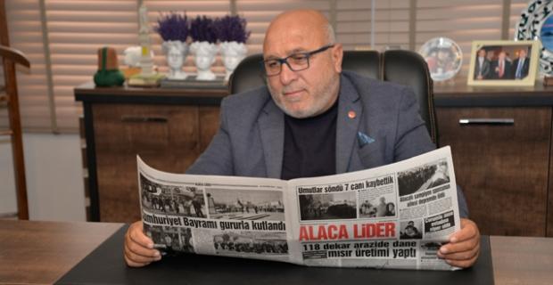 Alaca Lider Gazetemiz 15 yaşında