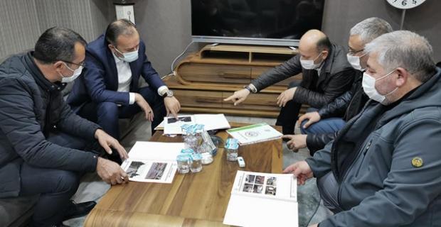 Alaca'nın çehresini değiştirecek projeleri görüştüler