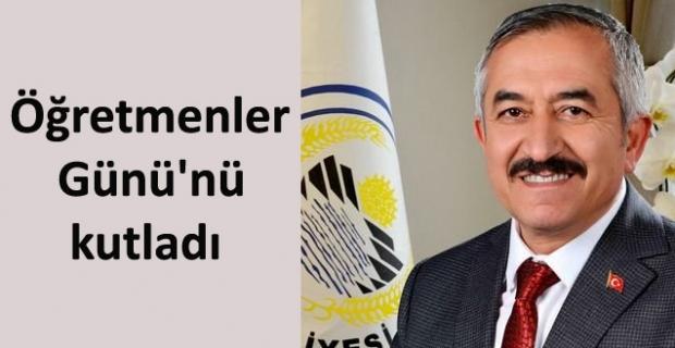 Başkan Şaltu'dan 24 Kasım mesajı
