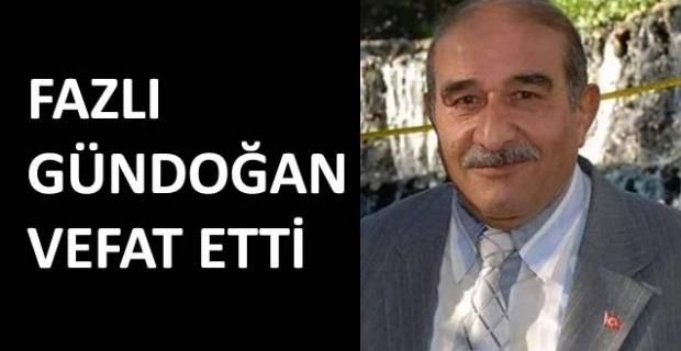 Fazlı Gündoğan hayatını kaybetti