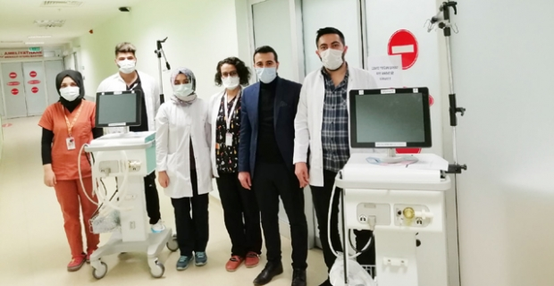 Hastane yoğun bakımına 2 adet ventilatör
