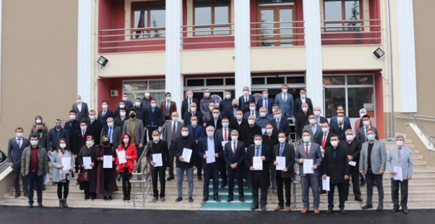 Alaca'da 9 okula temiz belgesi