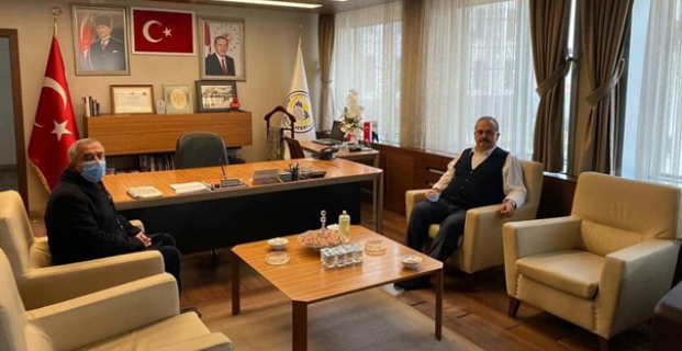Bursa Valisi'nden Başkan Şaltu'ya ziyaret