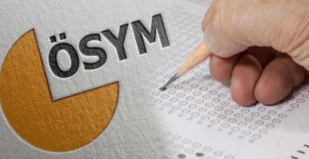 ÖSYM 2021 yılı sınav takvimini açıkladı