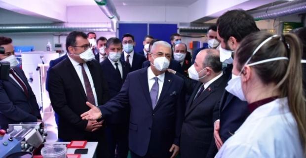 Ahmet Ahlatcı, Dünyanın onuncu Grafen tesisini Türkiye'ye kazandırdı