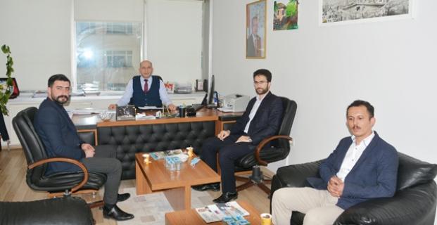 Başkan Yardımcısı Arslan'ı ziyaret ettiler