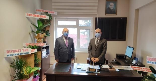 Fatih Akman'dan Fatih Kaya'ya hayırlı olsun ziyareti