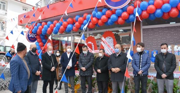 Seç Market hizmete açıldı