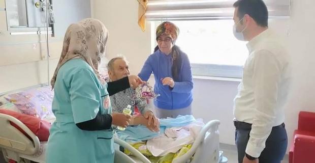 Hastanede Ramazan Bayramı kutlandı