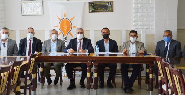 AK Parti İl Başkanlığı'ndan Alaca Teşkilatı'na ziyaret