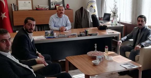 Başkan Şaltu'yu ziyaret ettiler
