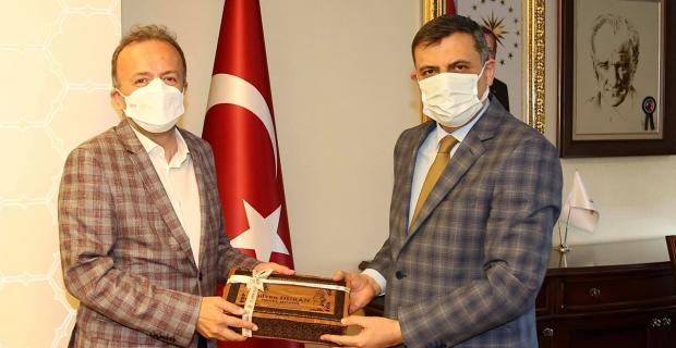 BİK Genel Müdürü Duran, Vali Çiftçi ile görüştü