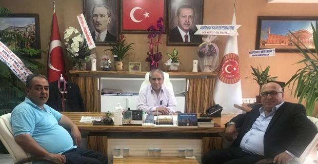 İlk ziyaret Mehmet Bektaş'a