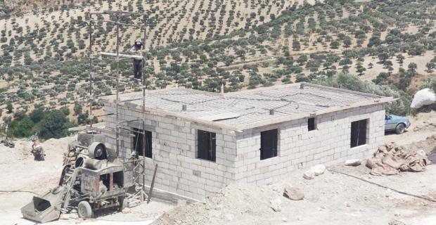 Yesevi Yardım Hareketi'nin briket köy projesi devam ediyor
