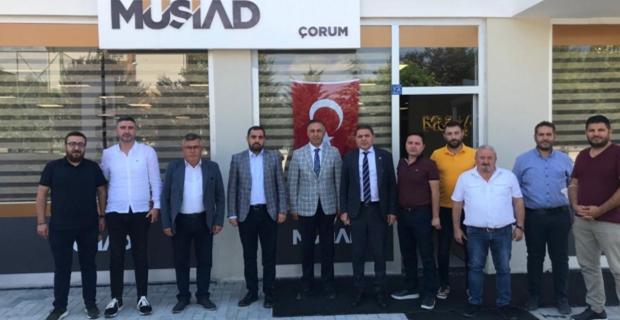 CHP'den MÜSİAD'a ziyaret