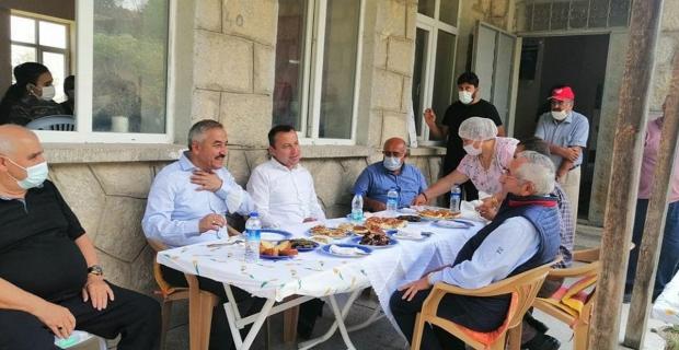 Kürkçü Köyü'nde aşure etkinliği
