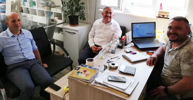 Başkan Şaltu ve Arslan esnaf ziyaretinde bulundu