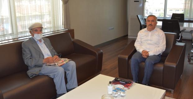 Mehmet Dedekargınoğlu'ndan Başkan Şaltu'ya ziyaret