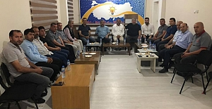 Alaca AK Parti'den istişare toplantısı