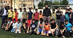 Yaz Kur'an kursları futbol müsabakaları başladı