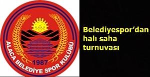 Belediyespor'dan halı saha turnuvası
